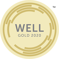 A WELL certification officially recognises buildings which positively impact the health, engagement and productivity of all who live and work there.
