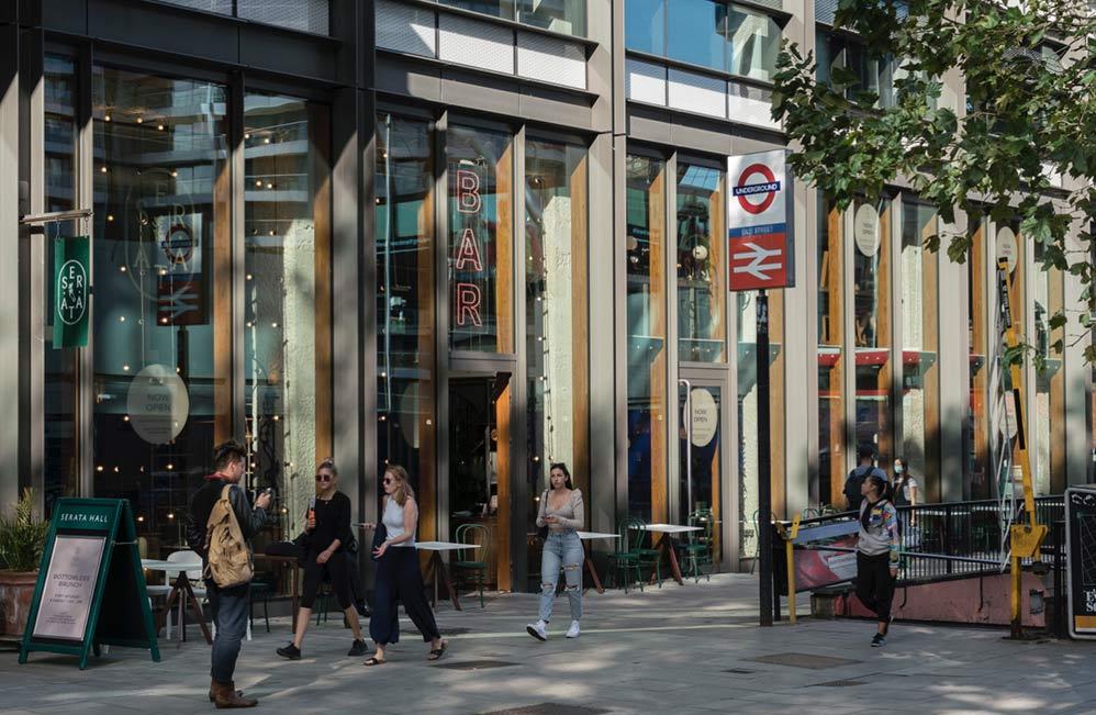 Location - The Arc - London